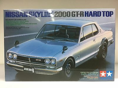Tamiya 24337 1/24 Scale Nissan Skyline 2000 GT-R Hard Top KPGC10 S20 Model Kit