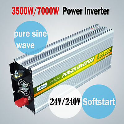 Pure Sine Wave Inverter 3500W 7000W 12V DC to 240V AC With Remote Controller