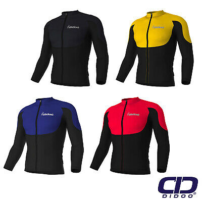 Didoo Mens Full Sleeve Cycling Jerseys Winter Warm Fleece Top MTB Racing Jackets