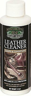 Moneysworth and Best Shoe Care Leather Cleaner, 4-Ounce