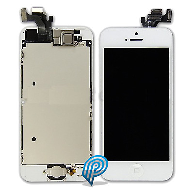 For Apple iPhone 5 Complete LCD Digitizer Screen White  - Original Specification
