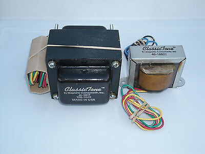 ClassicTone Tweed Deluxe 120/240V Transformer Set, Power and Output set USA made