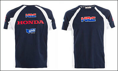 HONDA HRC GAS T-Shirt Blue XL-XXL