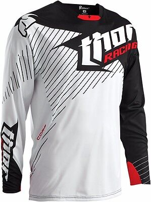 Thor Core Hux Black/White Jersey Extra Large XL