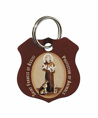 St. Francis Pet Medal (WS351) Protection Tag Stainless Steel Dog or Cat NEW