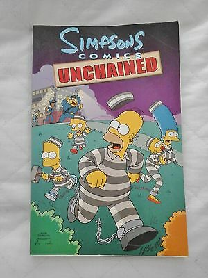 Simpsons Comics Unchained (Paperback Book 2002)