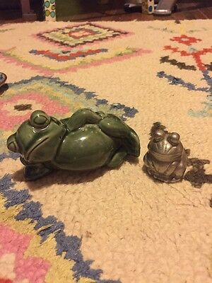 Set Of Two Frogs