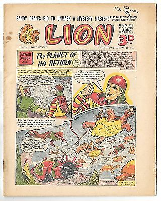 Lion 206 (28th Jan 1956, high grade copy) Captain Condor by Frank Pepper