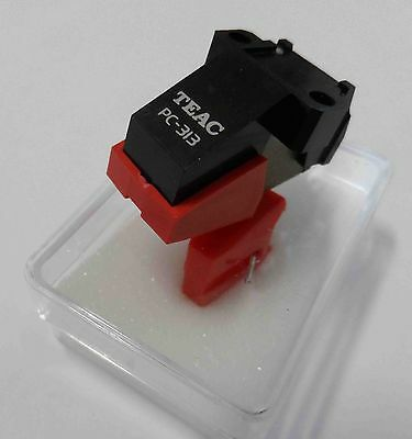 TEAC PC313 turntable cartridge and brand new replacement stylus