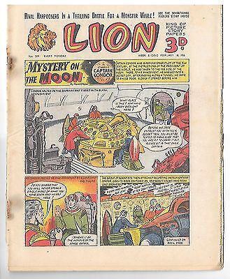 Lion 209 (18th Feb 1956, high grade copy) Captain Condor by Frank Pepper
