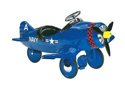 Corsair Pedal Plane  Navy Air Flow Pedal Plane Classic Style Kids Pedal Car