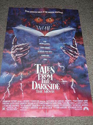 TALES FROM THE DARKSIDE (1990) - US One Sheet Cinema Movie Poster VG+ Condition
