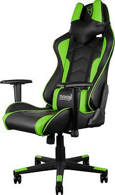 ---Introductory Deal--- ThunderX3 TGC22 Series Gaming Chair - Black/Green