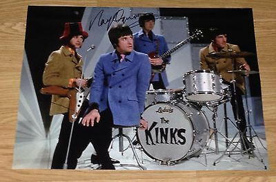 Authentic Signed Ray Davies The Kinks Huge 16 X 12 Photo..real Signature..coa..