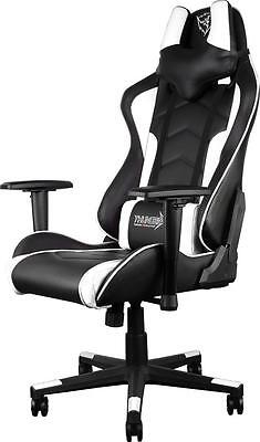 ThunderX3 TGC22 Series Gaming Chair - Black/White