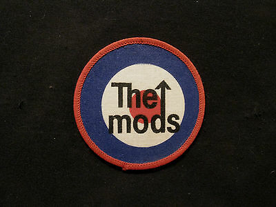 The Who Vintage Patch Uk Import Mods Ska Two Tone Rude Boy Rude Girl