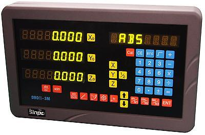3-axis digital readout for mill milling machine (complete DRO kit!)