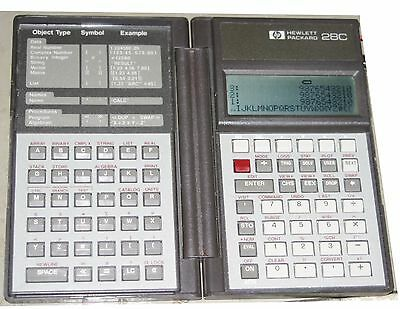 HP 28C Professional Business & Scientific Calculator USA Made - Used / Very Good