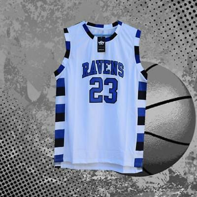 Nathan Scott 23 One Tree Hill Ravens Movie Jersey White Men Hand Sewn S-2XL