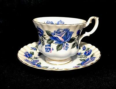 Royal Albert Lakeside Series Ullswater Tea Cup Saucer Set England Bone China