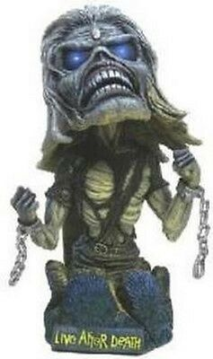 Eddie Iron Maiden Head Knocker Live After Death NECA Hand Painted EXTREMELY RARE