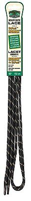 Moneysworth and Best Heavy Duty Nomex Shoe Lace, Black/Brown, 60-Inch