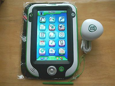Leapfrog Leappad Ultra Tablet Green With Original Charger & New Protective Pouch