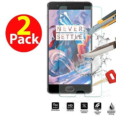 Genuine Shockproof Tempered Glass Screen Protector For OnePlus Three 3
