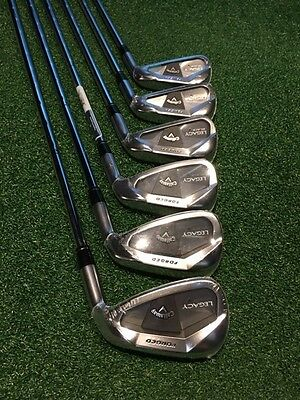 Callaway Legacy Black Irons 5-PW. VERY RARE. BRAND NEW.