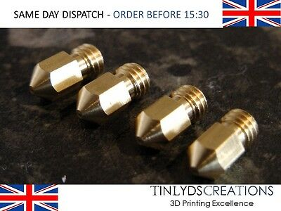 4x mk8 extruder 3d printer Nozzle 0.3mm CTC prusa Makerbot 1.75- 3d printer part
