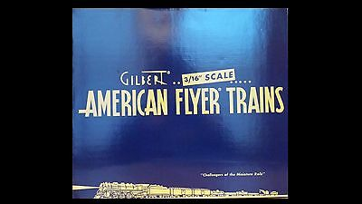 American Flyer 49930  Santa Fe Streamliner 3-Pack 6-49930 Factory New C-9