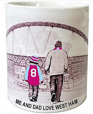 West Ham Mug Football shirt Fathers Day Xmas New Gift