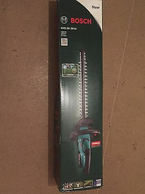 Bosch AHS 50-20 LI 18 V Hedge Cutter-Brand New RRP-134.95