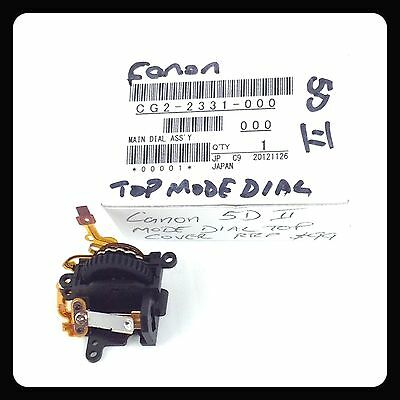 Canon Eos 5D Mark Ii Main Dial Ass'y New Replacement Repair Part