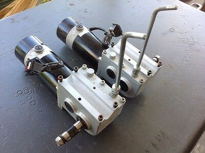Pride Jazzy Left & Right Motors & Gearboxes - Free USA Shipping!