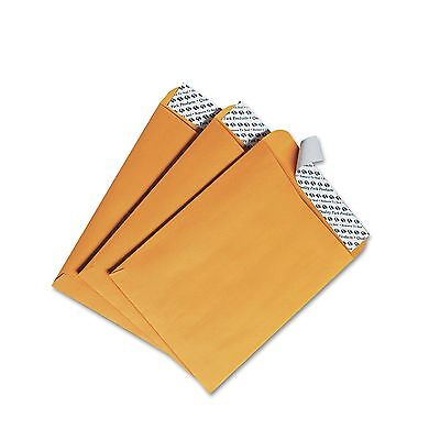 Quality Park 44162 Redi-Strip Catalog Envelope  6 x 9  Brown Kraft  100/Box