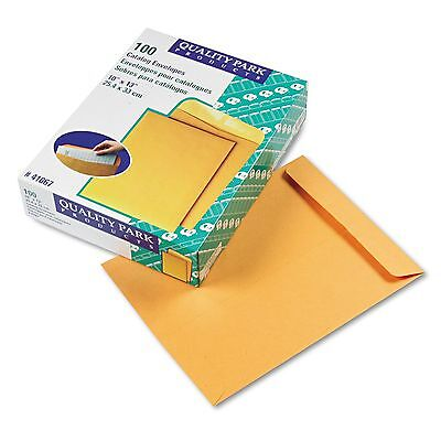 Quality Park 41667 Catalog Envelope  10 x 13  Brown Kraft  100/Box