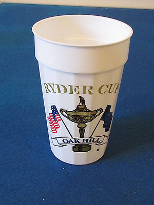 Ryder Cup 1995 - Oak Hill, New York - Plastic Cup - Approx Pint Size