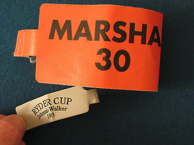 Ryder Cup 1993 - The Belfry - Marshal Armband & Wristband