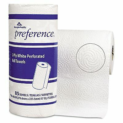 Georgia Pacific Professional 27315 Perforated Paper Towel Roll 11 x 8 45 White