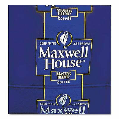 Maxwell House 866350 Coffee  Regular Ground  1 1/10oz Pack  42/Carton