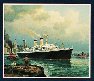 American Export Line 52 Independence Constitution Hawaii Ocean Liner Cruise Book