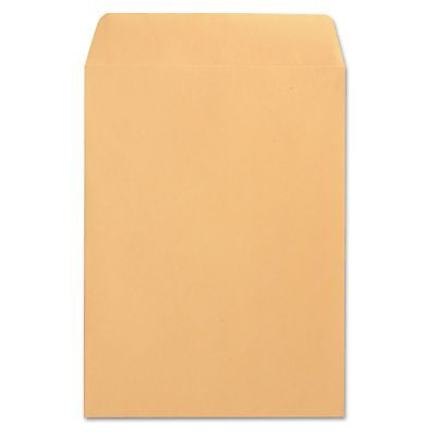 Universal 41165 Catalog Envelope  Center Seam  9 x 12  Brown Kraft  250/Box