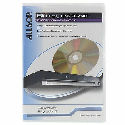 Allsop Blu-Ray Player, Driver & Portable Player Lens Cleaner For Improved &
