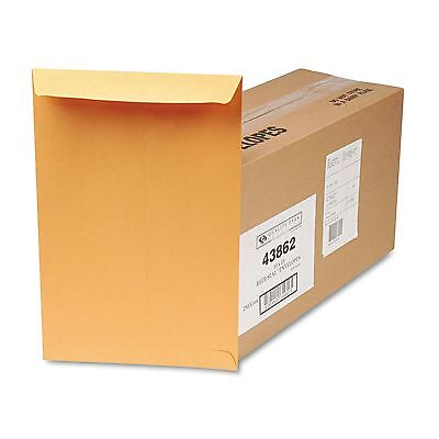 Quality Park 43862 Redi-Seal Catalog Envelope  10 x 15  Brown Kraft  250/Box