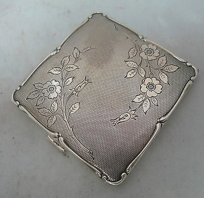 Vintage EPNS Silver Plated Compact