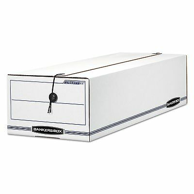 Bankers Box 00018 LIBERTY Basic Storage Box  Record Form  8 3/4 x 23 3/4 x 7