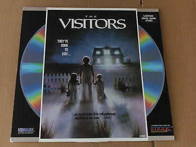 THE VISITORS LASERDISC (NTSC, VG Condition)