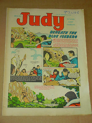 JUDY #412-416 Lot of 5 Dec 2nd-30th 1967 UK Girls Weekly Comic