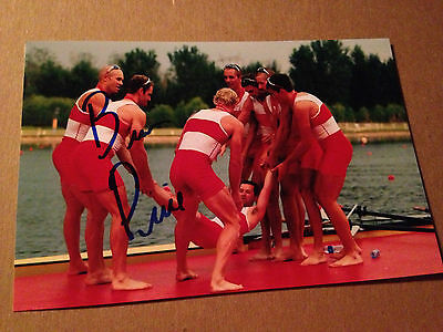 Brian Price SIGNED 4x6 photo TEAM CANADA Men's 8 ROWING / OLYMPICS GOLD MEDAL 6